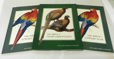 Lot 47 - THE BIRDS OF DANIEL GIRAUD ELLIOT, Ariel Press...