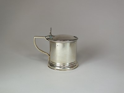Lot 2 - A Victorian silver mustard