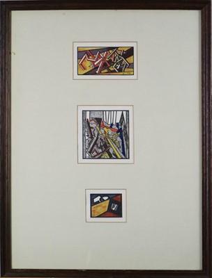 Lot 7 - David Bomberg (1890-1957) Russian Ballet Lithographs