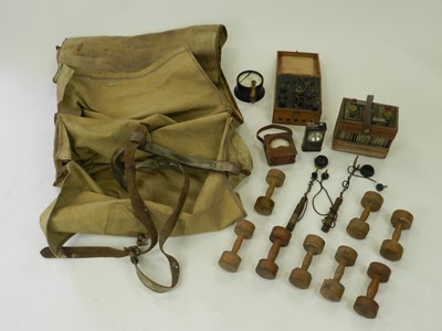 Lot 205 - A collection of militaria and other items, circa 1950