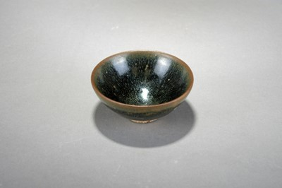 Lot A small Chinese Jian ware 'hare's fur' bowl, Song Dynasty