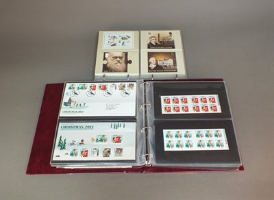 Lot 46 - A collection of stamp albums