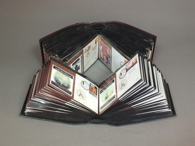 Lot 47 - Three albums containing Benham F.D.C.'s