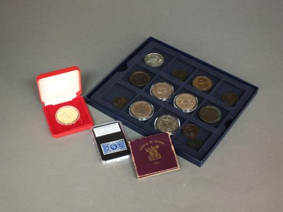 Lot 41 - A collection of assorted British coinage