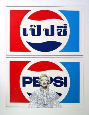 Lot 2 - Pakpoom Silaphan (Thai Contemporary) Marilyn on Pepsi