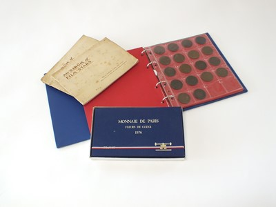 Lot 25 - An album containing a collection of Channel Islands coinage