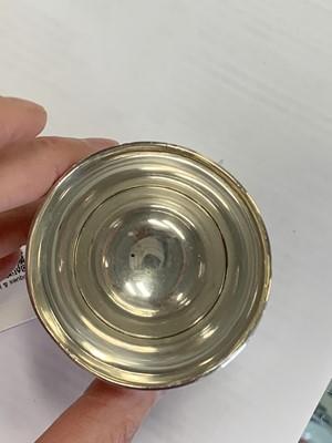 Lot 4 - A Georg Jensen silver beaker/cup
