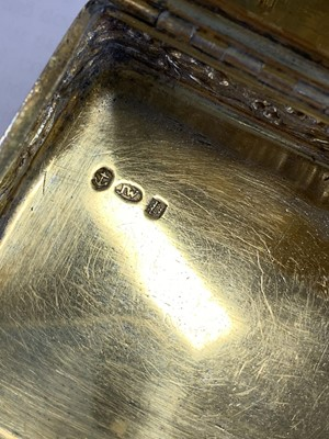 Lot 11 - Two silver snuff boxes