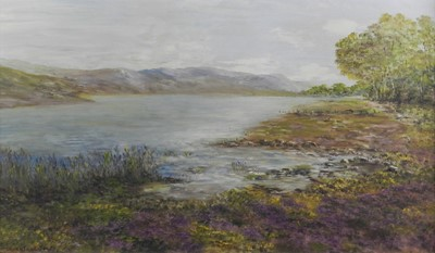 Lot 2 - British School (20th Century) Two Landscapes