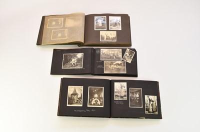Lot 7 - PHOTOGRAPH ALBUMS, 7 albums of pre-war...