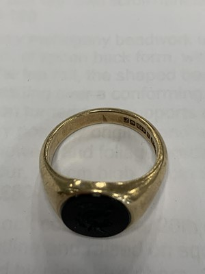 Lot 20 - Two signet rings