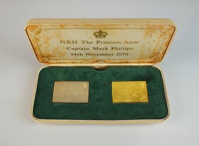 Lot 27 - The Royal Wedding Stamp Replicas