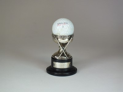 Lot 16 - A 'hole in one' silver trophy