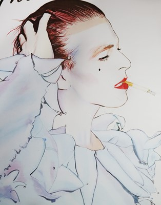 Lot 1 - Edward Bell (British Contemporary) David Bowie Glamour Poster