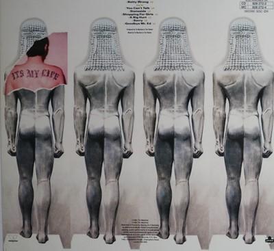 Lot Edward Bell (British Contemporary) Tin Machine Album Cover Proof