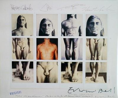 Lot 28 - Edward Bell (British Contemporary) Tin Machine II Signed Artwork Postcard