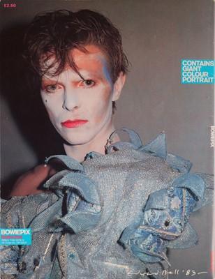 Lot 21 - David Bowie Bowiepix Magazine 1983