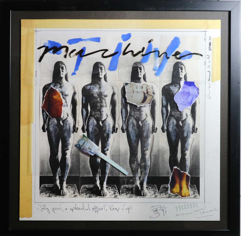 26 - Edward Bell (British Contemporary) Tin Machine Album Cover Design