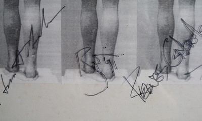 Lot Edward Bell (British Contemporary) Tin Machine Album Cover Verso Design