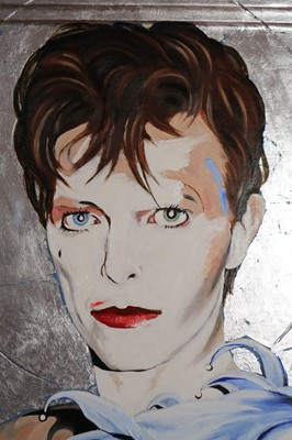 Lot Edward Bell (British Contemporary) Scary Monsters Era Icon