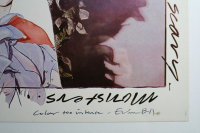 Lot 2 - Edward Bell (British Contemporary) Scary Monsters (and Super Creeps) Album Design
