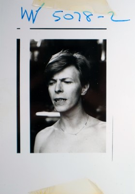 Lot 5 - Edward Bell (British Contemporary) Scary Monsters Photoshoot Contact Sheet