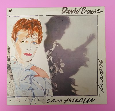 Lot David Bowie Scary Monsters (and Super Creeps) Record