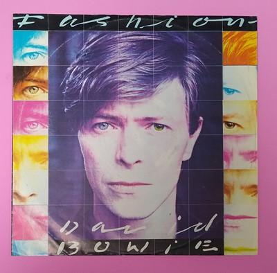 Lot David Bowie Fashion Single Record