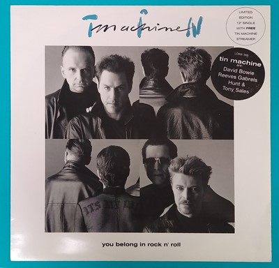Lot Tin Machine LP Single