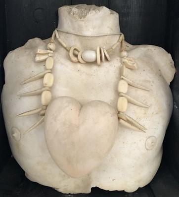 Lot Edward Bell (British Contemporary) Savage Heart Sculpture