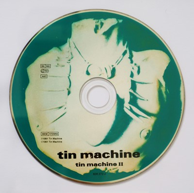 Lot Edward Bell (British Contemporary) Tin Machine CD Disc and Design