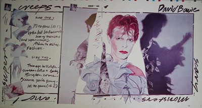 Lot 12 - Edward Bell (British Contemporary) Scary Monsters (and Super Creeps) Album Design