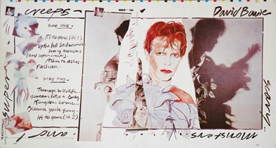 Lot 13 - Edward Bell (British Contemporary) Scary Monsters (and Super Creeps) Album Design