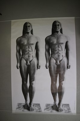 Lot 24 - Edward Bell (British Contemporary) Tin Machine Fly Poster