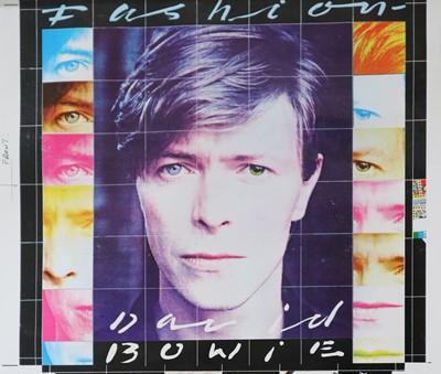 Lot 15 - Edward Bell (British Contemporary) David Bowie Fashion Single Design