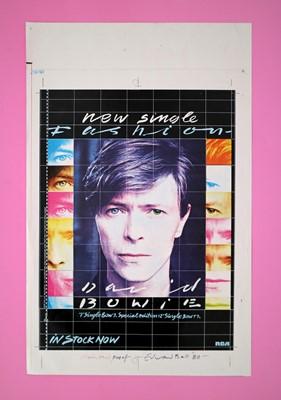 Lot 16 - Edward Bell (British Contemporary) Fashion Single Advert Design