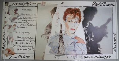 Lot 17 - Edward Bell (British Contemporary) Fly Poster for Scary Monsters Album
