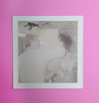 Lot Edward Bell (British Contemporary) Polaroid of David Bowie and Brian Duffy