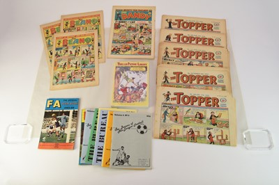 Lot 11 - The Beano, 3 issues from 1954; The Dandy, 3...