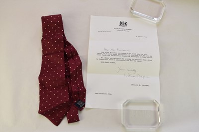 Lot 13 - TIES. A collection of 7 neck ties worn by...