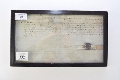Lot 22 - HALE, Matthew (1609-1676), English barrister,...