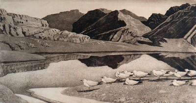 Lot 24 - Charles Frederick Tunnicliffe OBE RA (1901-1979) Hebridean Landscape