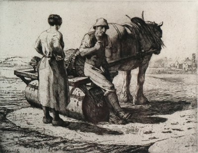 Lot 19 - Charles Frederick Tunnicliffe OBE RA (1901-1979) The Seed Roller