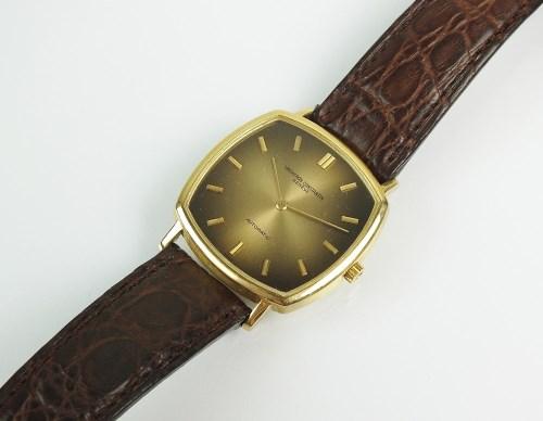 Lot 328-A Gentleman's 18ct yellow gold Vacheron...