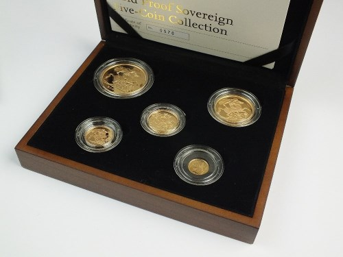 Lot 442-United Kingdom 2009 Royal Mint gold proof...