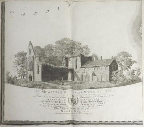 Lot 525-Evans (John) Six Counties of North Wales 1795,...