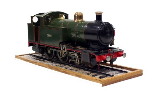 Lot 970-A 5 inch gauge coal fired steam model of an 0-6-0 ...