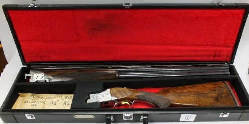 Lot 79-A 12 bore over and under ejector shotgun by F.N...