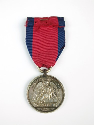 Lot 689-Waterloo 1815, awarded to 'Smith Fife 42nd or R.H....