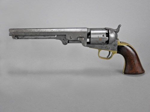 Lot 239-A .36 calibre percussion Colt six-shot 1851 Navy...